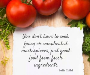 Julia Child good food