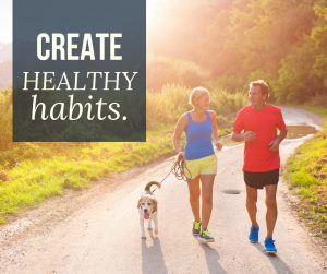 create healthy habits