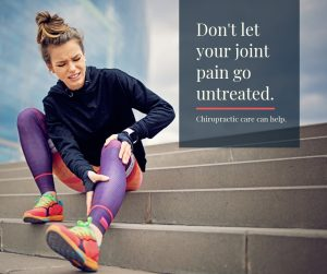 don't let your joint pain go untreated