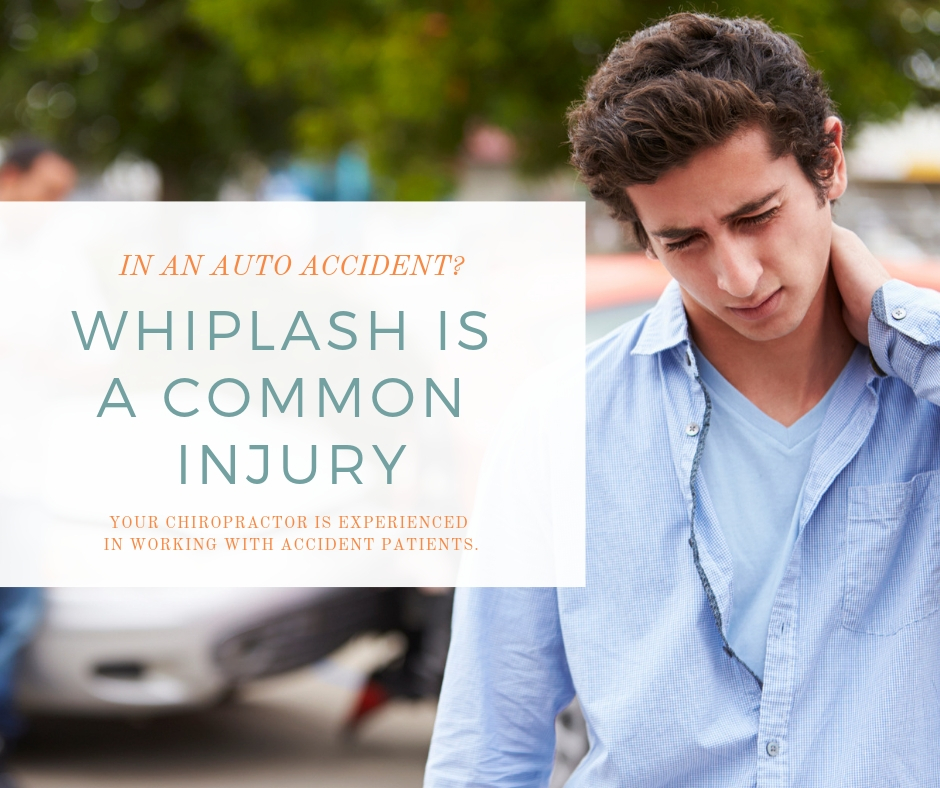 Whiplash is a common injury