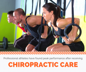 peak performance - chiropractic care