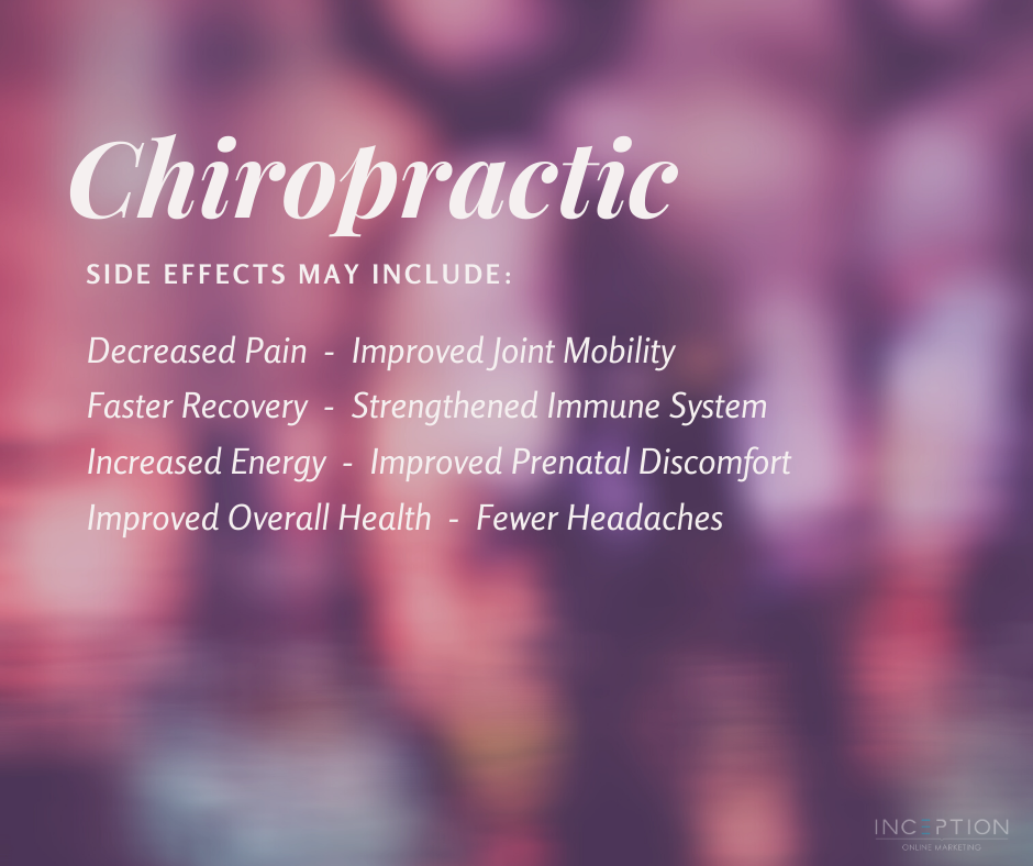 Chiropractic Side Effects