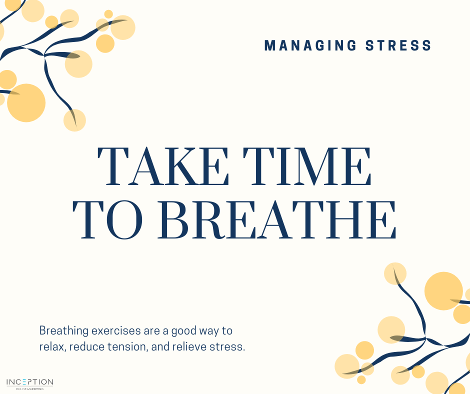 Managing Stress Breathe