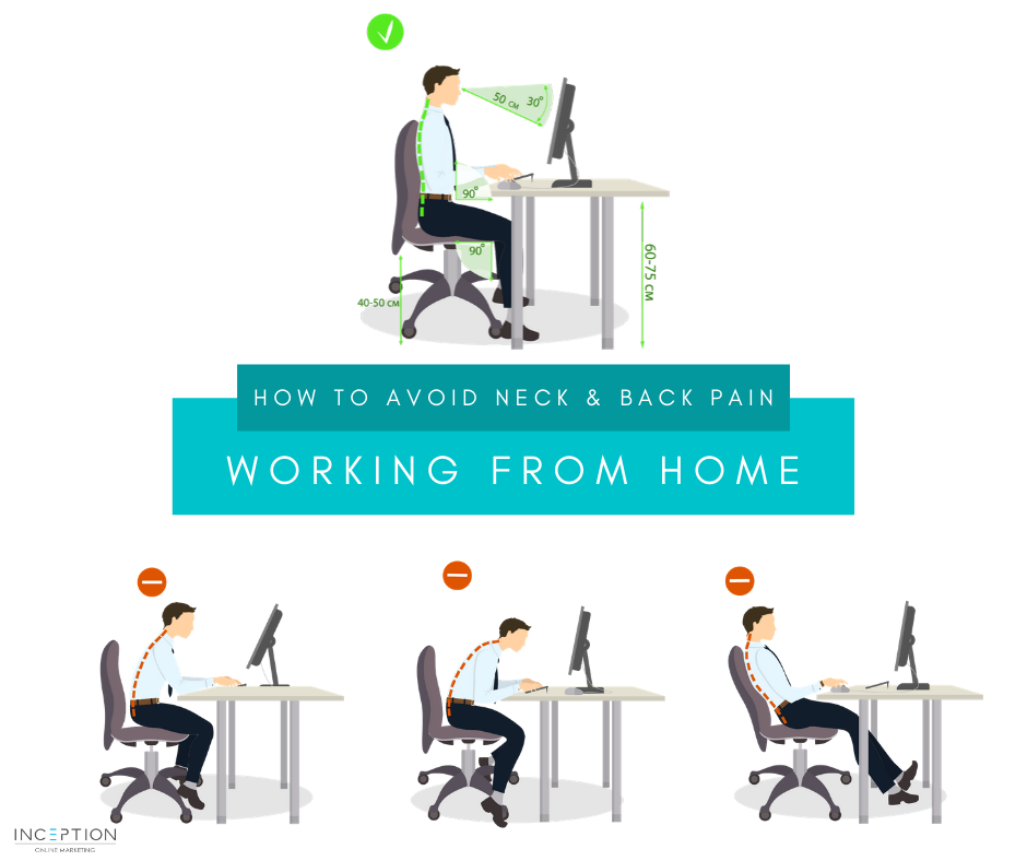 Working From Home Posture