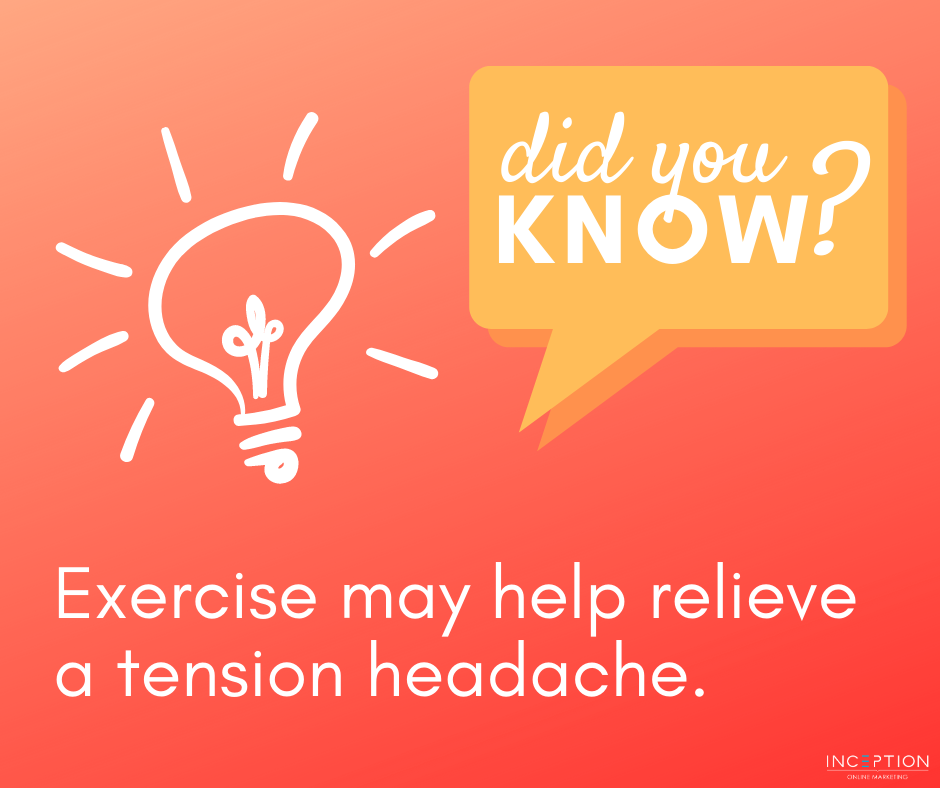 did you know-tension headaches