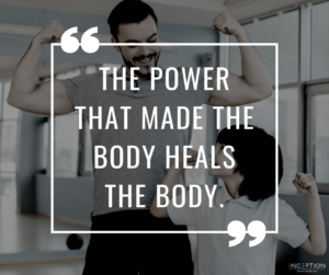 The POWER That Made the Body Heals the Body.