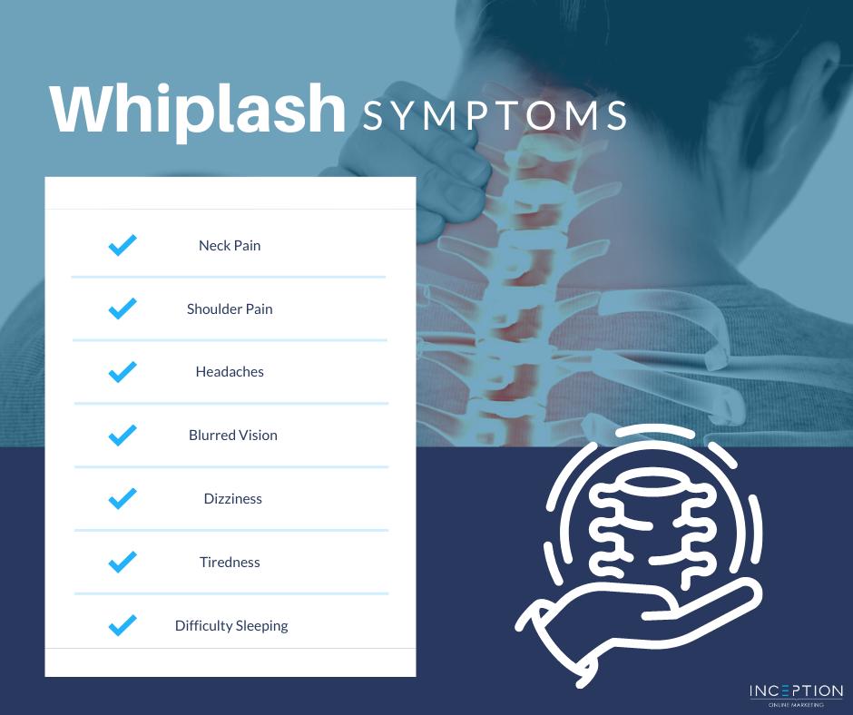 Whiplash Symptoms