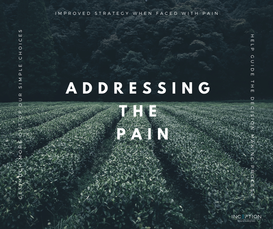 Addressing The Pain