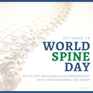 World Spine Day 2021